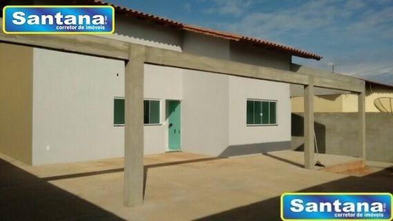 04162 - Casa 3 Dorms. (1 Suíte), Jardim Prive Das Caldas - Caldas Novas/go - 4162