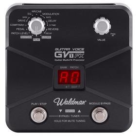 Pedal Para Guitarra Multi Efeitos Waldman Gv1fx Frete Grátis