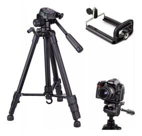 Tripé Alumínio Black Profissional Câmera Nikon Canon 1,70m