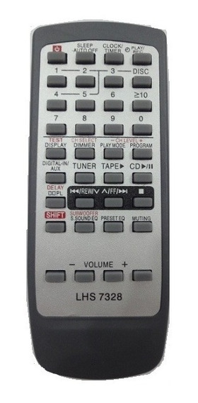 Controle Remoto Som Panasonic N2qagb000018 Sa-ak200 Sa-ak300