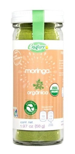 Enature Moringa Orgánico Super Powders 56g