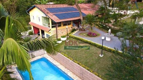 Imagem 1 de 6 de Casa Com 4 Dormitórios À Venda, 2500 M² Por R$ 901.000 - Parque Residencial Itapeti - Mogi Das Cruzes/sp - Ca6177