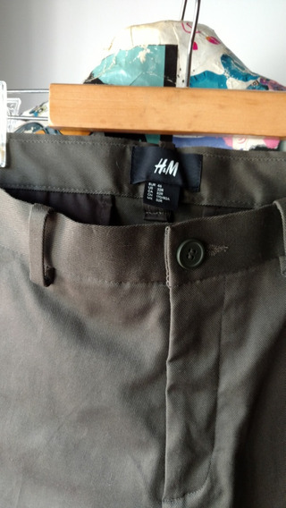 Pantalon Chino H&m Slim Fit T. 46 Eur