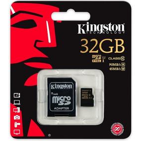 Cartão De Memória Kingston Microsd 32gb Classe 10 90mb/s