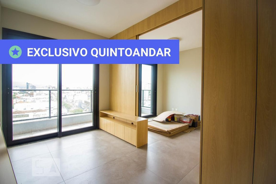 Apartamento No 10º Andar Com 1 Dormitório E 1 Garagem - Id: 892985046 - 285046