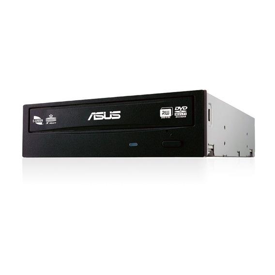 Gravadora De Cd E Dvd Sata Asus 24x Preta Drw-24f1mt
