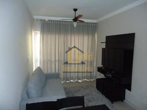 Apartamento Com 1 Dormitório Para Alugar, 69 M² Por R$ 950/mês - Vila Seixas - Ribeirão Preto/sp - Ap2585
