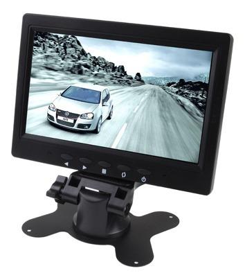 Monitor Vehiculo Lcd Retrovisor Automovil 7.0 Soporte