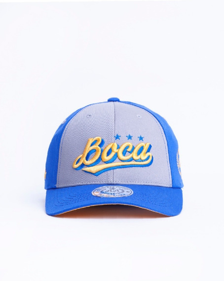 Baseball Cap Boca J. Lic. Oficial Double Aa Fitted M.18639