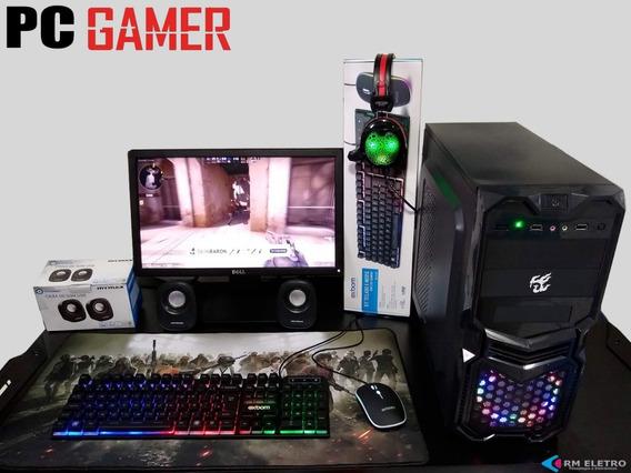 Pc Gamer Completo Dualcore 4gb/500gb/vga1gb /250w 981513