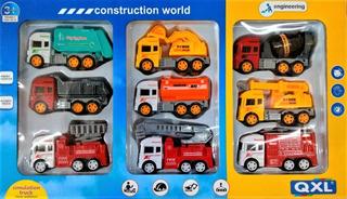 Set Camiones Construccion