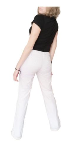 Tommy Hilfiger Pantalon Mujer Casual Formal Vestir Beige Mercado Libre