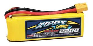 Batería Lipo 2200mah 3s 11.1v 25c Zippy Dron Robótica Rc F