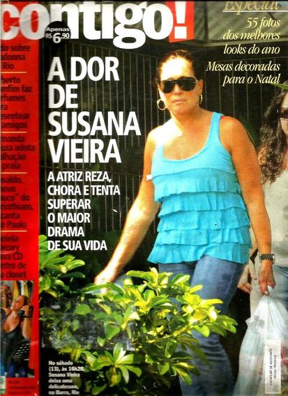 Revista Contigo 1735/08 - Angélica;sandy/susana/roberto