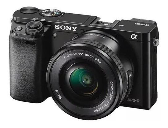 Câmera Sony Alpha 6000 + Lente 16-50mm (nova, Sem Uso)