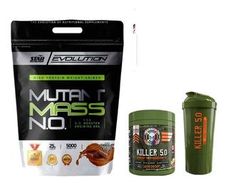 Ganador De Peso Mutant Mass 5k + Killer 5.0 + Shaker 2 En 1