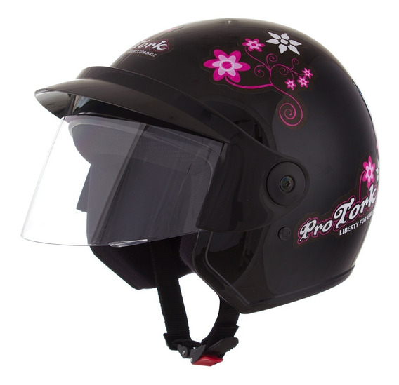 Capacete Street Feminino Pro Tork Liberty 3 For Girls