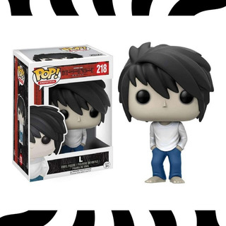 Funko Pop! Light Yagami - Pop! Death Note L #218 Kemuñecos
