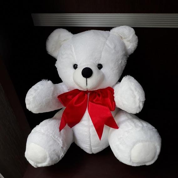 Ursinho Urso 30cm Com Gravata Pelúcia Plush Anti-alérgico