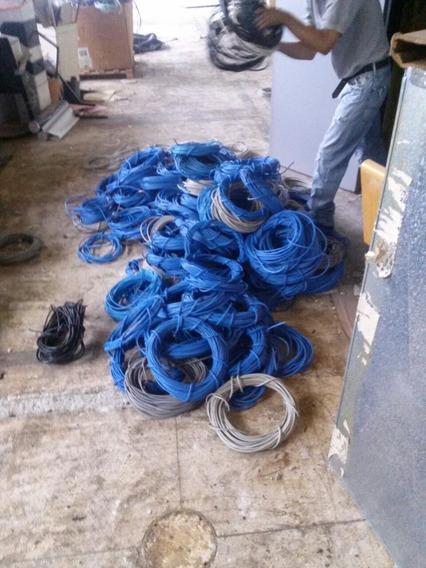 Cable Utp Categoría 6 Azul Y Gris