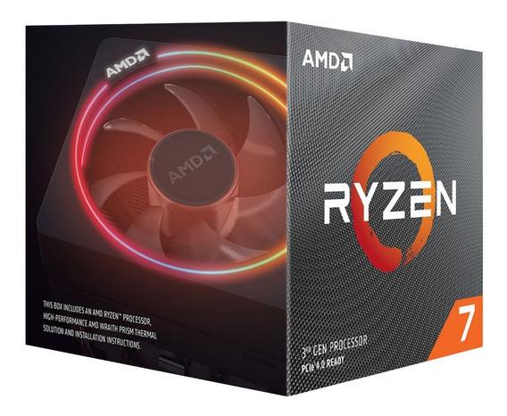 Combo Actualizacion Gamer Amd Ryzen 7 3700x + 16gb D4 + B450 12c
