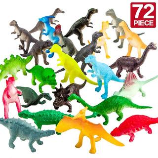 Set De Piezas De Mini Dinosaurio De Juguete