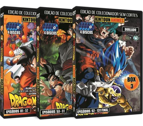 Dragon Ball Super Totalmente Dublado Em Dvd + Filme Broly