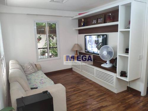 Imagem 1 de 20 de Apartamento Garden Com 3 Dormitórios À Venda, 118 M² Por R$ 950.000 - Mansões Santo Antônio - Campinas/sp - Gd0030