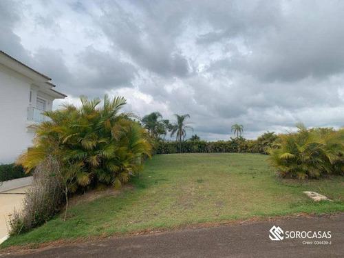 Imagem 1 de 1 de Terreno À Venda, 1000 M² Por R$ 750.000,00 - Condomínio Fazenda Alvorada - Porto Feliz/sp - Te1081