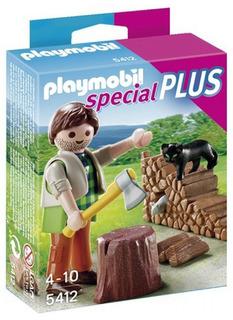 Playmobil Leñador Con Accesorios 5412