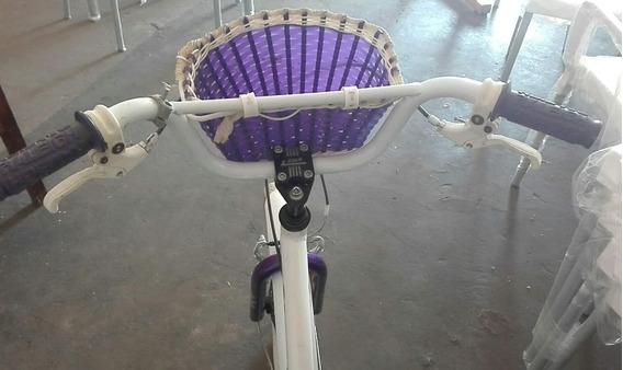 Bicicleta Raleigh Jazzi Rodado 20 Niña