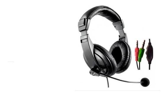 Headset C/ Microfone Ph049 Multilaser Gamer P2 Pc Notebook