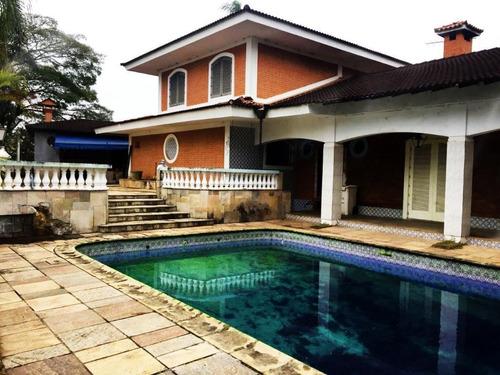 Casa Com 3 Dormitórios À Venda, 495 M² Por R$ 1.300.000,00 - Interlagos - São Paulo/sp - Ca0025