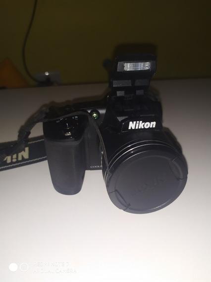 Câmera Semi Profissional Nikon Coolpix Lp840