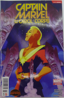 Marvel Comic Captain Marvel 3 #3 Español Televisa