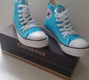 All-star Converse Azul Celeste Novo Tênis Feminino Masculino