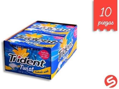 Trident Twist Menta 10pzs