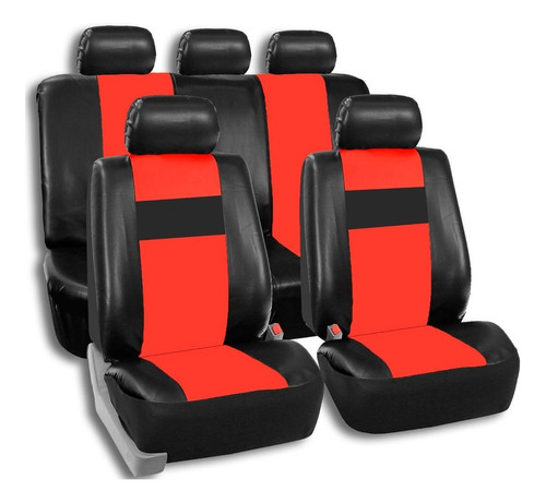 Imagen 1 de 9 de Fundas Cubre Asientos Auto Cuerina Cuero Ecológico Easy