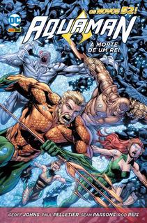 Hq - Aquaman - A Morte De Um Rei - Capa Dura