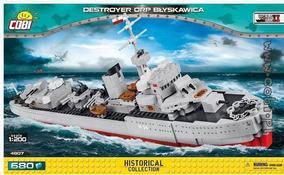 Navio Polonês Destroyer Orp Blyskawica