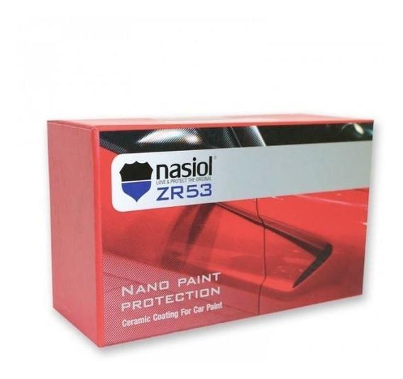 Vitrificador 9h Nasiol Zr53 50ml Vitrificação Automotiva
