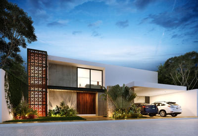 Casa Nueva Y Equipada En Venta, Modelo 1, Puerta Cumbre, Cholul, Mérida Norte