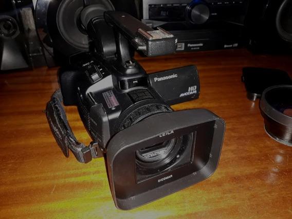 Camera Panasonic Hmc40 Full Hd Grava Em Card Com Acessórios
