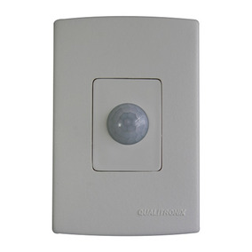 Sensor De Presença Microcontrolado 4x2 Com Fotocélula Qi8