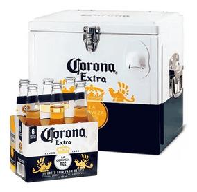 Kit Corona Cooler + Pack Corona Extra 355ml (6 Unidades)