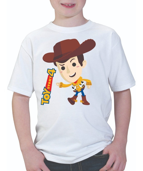 Playera Infantil Woody Toy Story 4 Pixar Disney