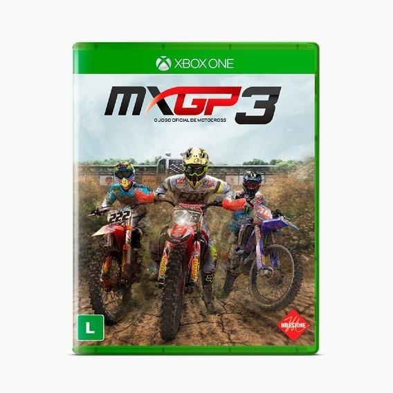 Mxgp3, Xbox One, Novo, Lacrado, Mídia Física.
