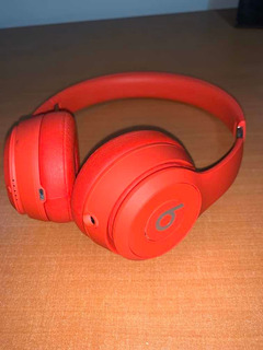 Audífonos Beats Solo 3 Wireless (red)