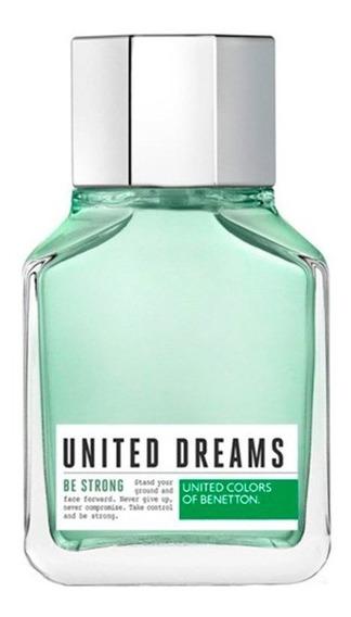 Perfume United Dreams Be Strong Eau De Toilette 100ml