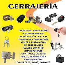 Servicio De Cerrajeria Las 24 Horas
